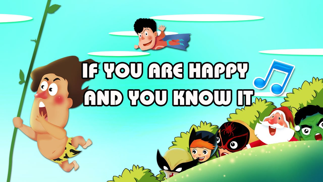 If You Are Happy | Nhac Tieng Anh Thieu Nhi | Hoc Tieng Anh Qua Bai Hat