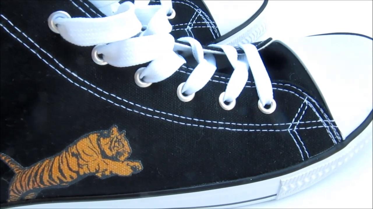 b2153175f7889 Schuhe mit eigenem Logo günstig - YouTube