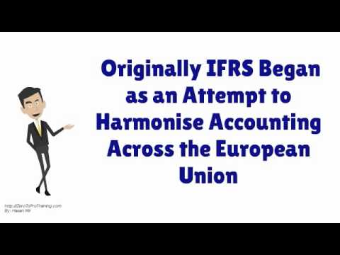 Overview of International Financial Reporting Standard (IFRS