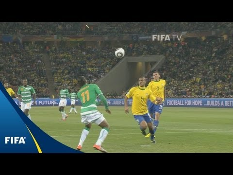 Download Brazil v Côte d'Ivoire | 2010 FIFA World Cup | Match Highlights
