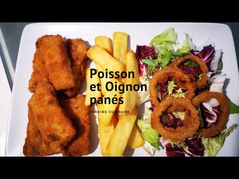 poisson-et-oignon-panés-très-faciles-à-faire-(cooking-culinaire)