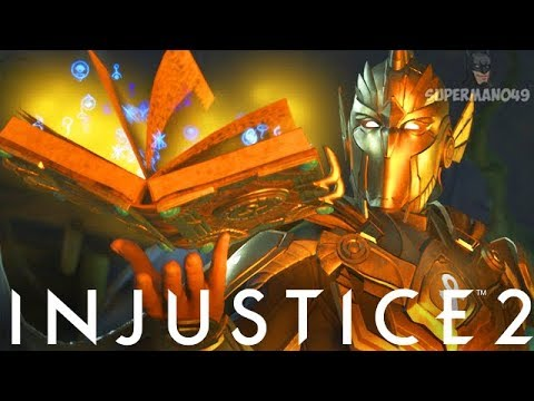 """Doctor Fate Uses Dark Magic With Epic Gear! - Injustice 2 """"Dr. Fate"""" Gameplay (Online Ranked)"""