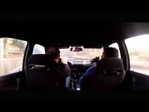 BMW M5 бешеные шашки в потоке
