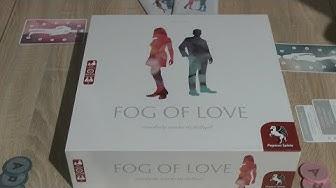 Fog of Love (Pegasus Spiele) - Kurzvorstellung - 2er Spiel der besonderen Art!