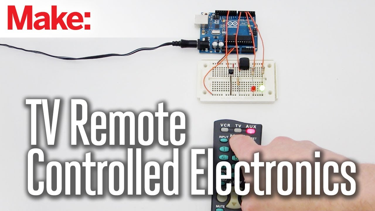 Diy hacks how tos tv remote controlled electronics youtube solutioingenieria Choice Image