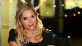 Pretty Little Liars - Ashley Benson Talks about Filming the PLL Christmas Special (5x13)