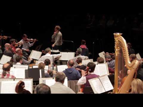 Mahler -  Symphonie n° 4 - Daniel Harding (répétition)