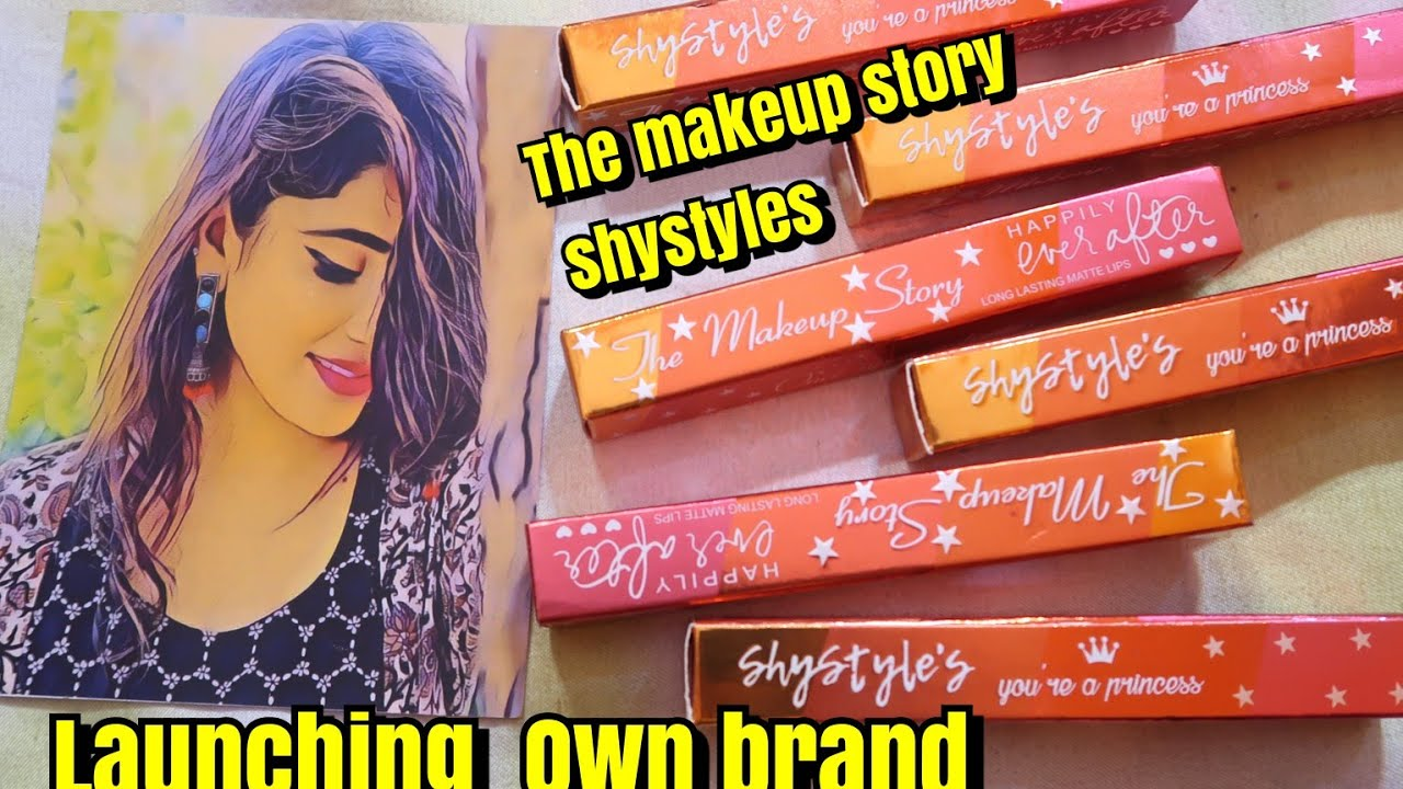 LAUNCHING My OWN BRAND || The makeupstory by shystyles
