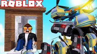 🔥 BASE VS. TANKS, HELICOPTERS AND SOLDIERS! | ROBLOX #184