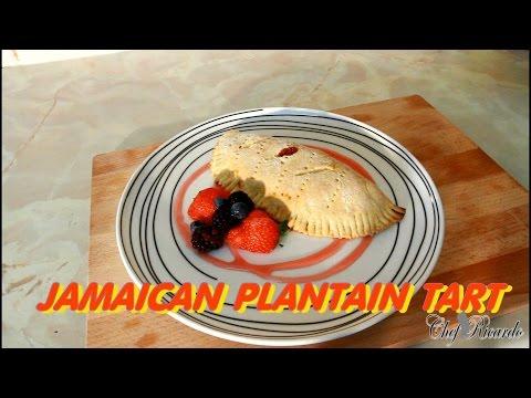 Jamaican Plantain Tart -Recipe -Caribbean Delicious Plantain Tart