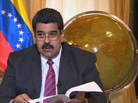 Interview with President Nicolas Maduro