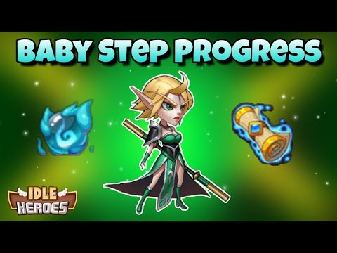 Idle Heroes - Never Give Up! - Making Some Progress