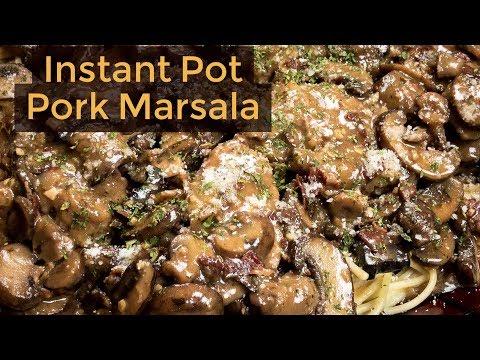 Instant Pot Pork Marsala - Instant Pot Pork Recipe
