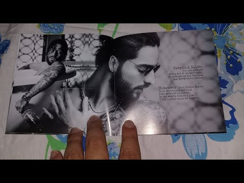 Unboxing Cd Maluma - F.A.M.E.