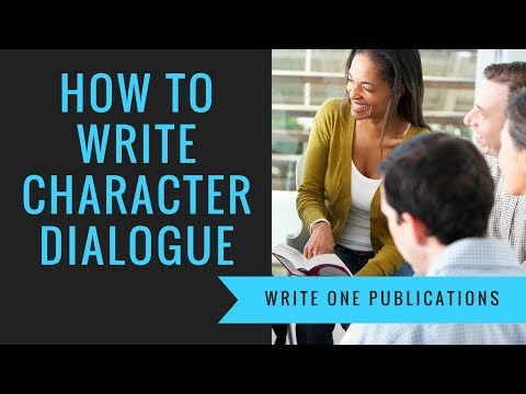 How To Write Character Dialogue That