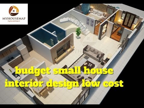Budget small house interior design low cost indian home for Low cost small house plans