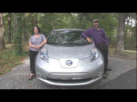 Actual Owners 2012 Nissan Leaf Review Youtube