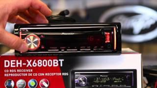 Sound EQ settings on the Pioneer DEH X6800BT  radio