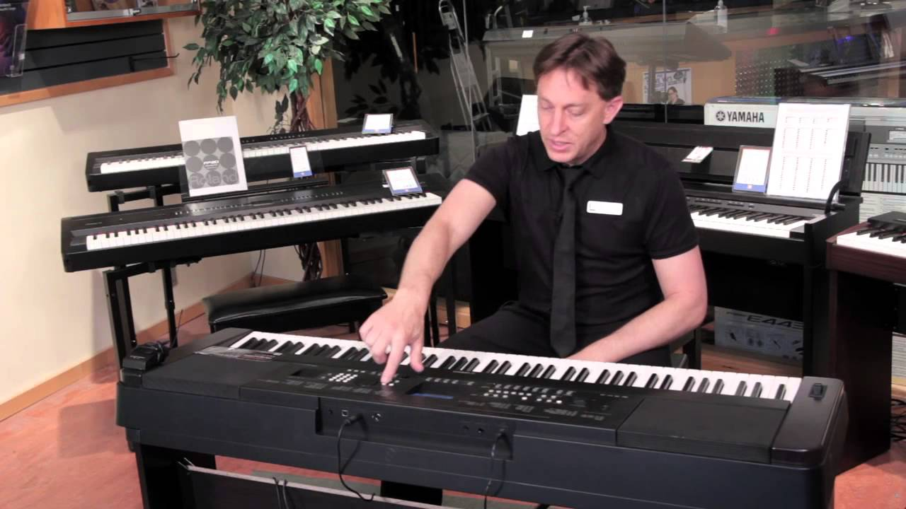 yamaha dgx 650 88 key electric piano product demonstration youtube. Black Bedroom Furniture Sets. Home Design Ideas
