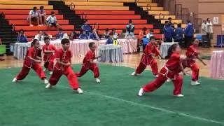佛教林炳炎紀念學校~學校小學組初級南拳B隊 (2017全港公