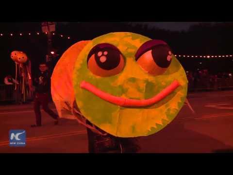 Halloween Parade Held In Chicago