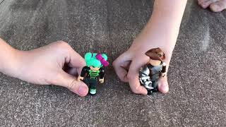 Playing with Roblox toys #2