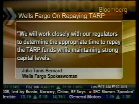 Wells Digesting Wachovia Acquisition - Bloomberg