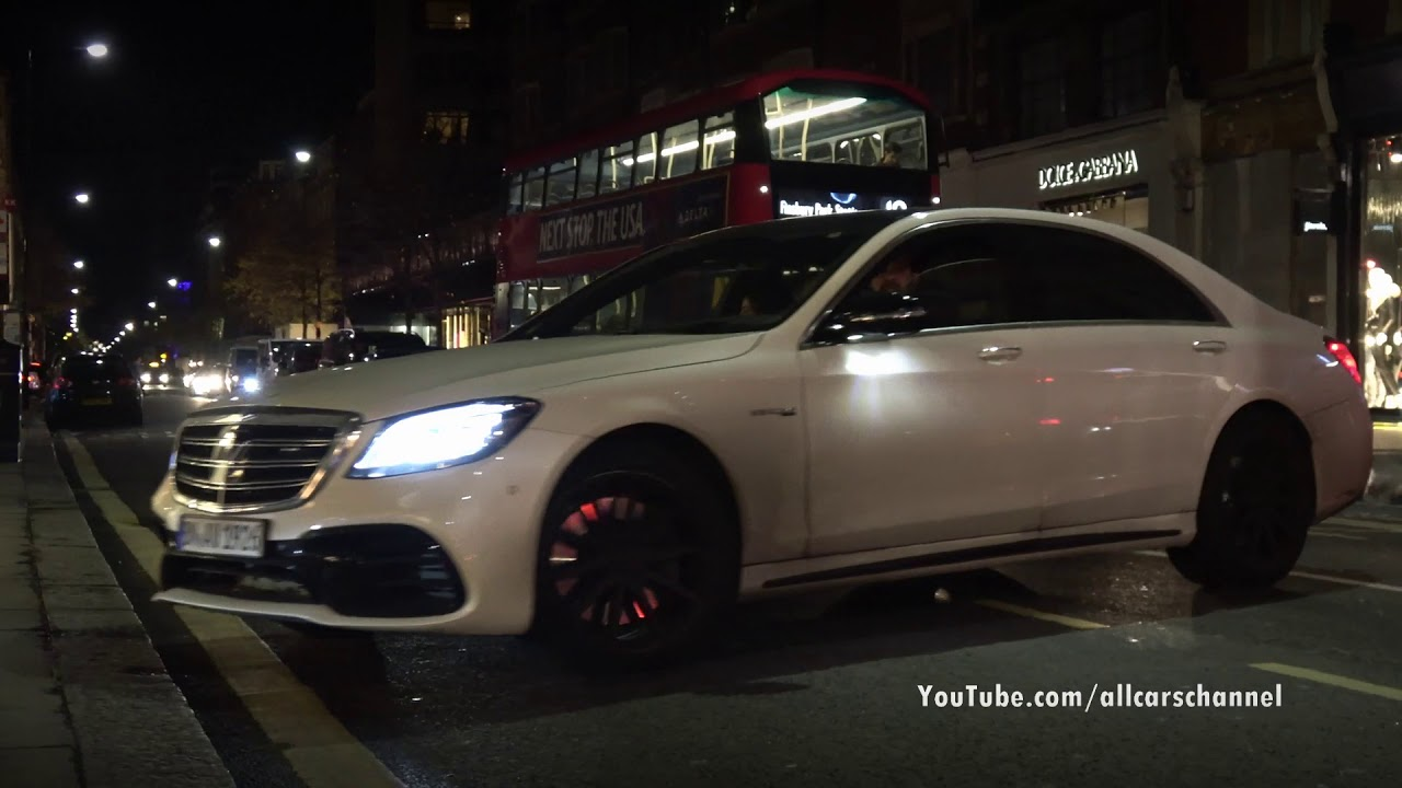 New Mercedes Amg S 63 W222 The First S63 Facelift On London Streets