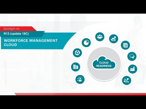 Oracle Applications R13 (update 18C) Spotlight on Workforce Management Cloud