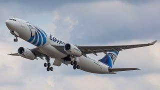 تفاصيل اختفاء طائرة مصرية فوق البحر المتوسط