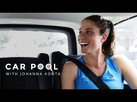 PDT Carpool: Jo Konta at the Oz Open!