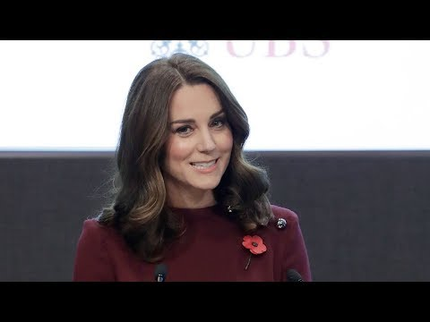 Duchess of Cambridge speaks at Place2Be Forum