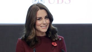 The Duchess of Cambridge speaks at Place2Be Forum