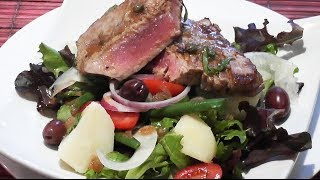 Seared Tuna Salad Recipe - Mark's Cuisine #56