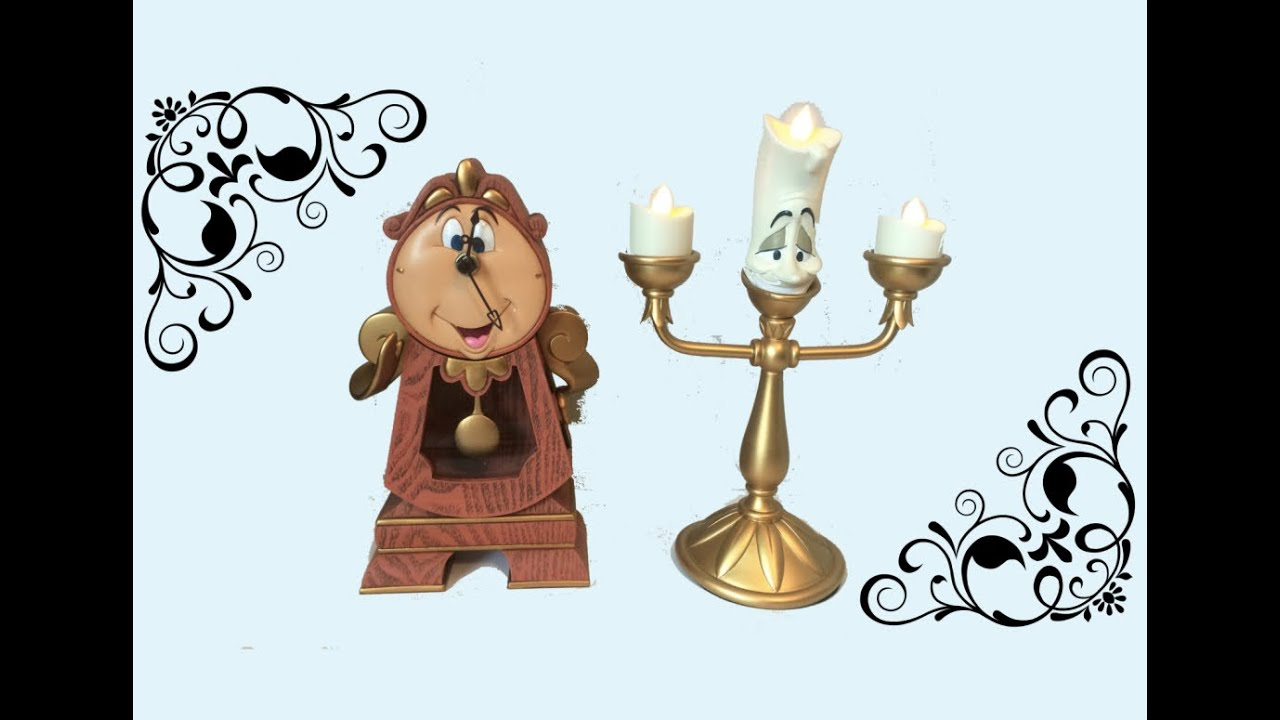Beauty And The Beast Collectibles >> Cogsworth Clock Review Beauty And The Beast Collectibles