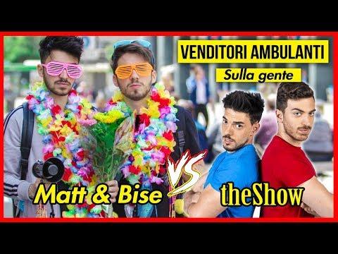 VENDITORI AMBULANTI SULLA GENTE | Matt & Bise ft. theShow [Ricavato in beneficenza]