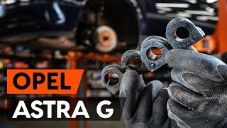 Fitting Coil springs OPEL ASTRA G Hatchback (F48_, F08_): free video