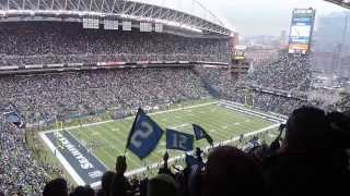 Seattle Seahawks Touchdown (Jan.11,2014 @CenturyLink Field, vs New Orleans Saint)