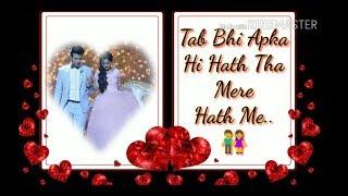 Tu Aashiqui - Ahaan And Pankti Best Romantic Video | WhatsApp Status | Romantic Hindi Shayri