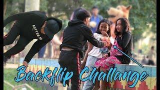 SALTO Kasih Bunga Ke Cewek Sampai Baper ( Backflip Challange ) thumbnail