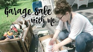 GARAGE SALE WITH ME | HAUL | SHOP WITH ME