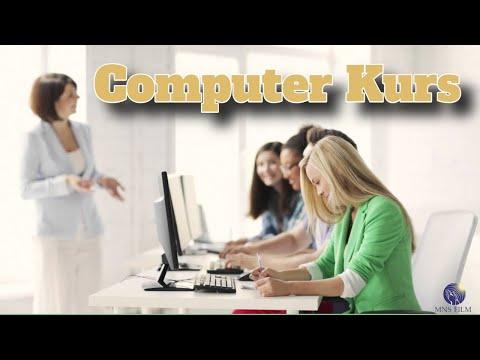 Computer Kurs bei MhM Basel. Werbung