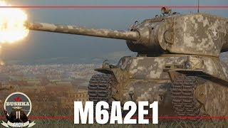 The M6A2E1 - Gee its pretty Swish World of Tanks Blitz