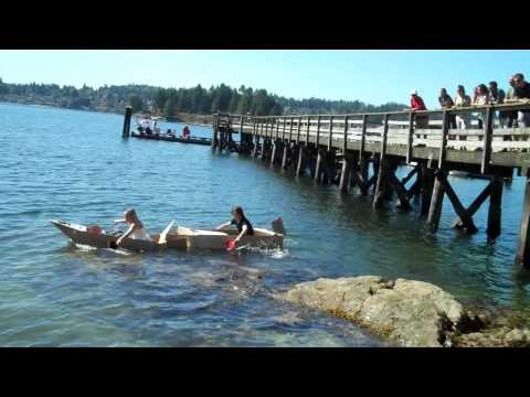 Teck Resources Cardboard Boat Race #4 - Corporate Explorer Training - Belcarra Park