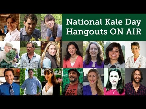 Kale Cafeteria - National Kale Day