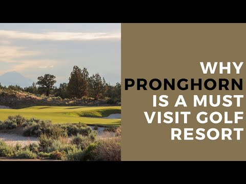 Why Pronghorn Resort Is A Must Visit Golf In Central Oregon | Breaking Eighty