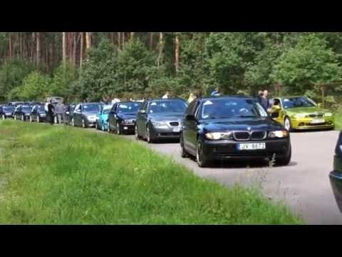 Largest BMW parade in Riga 7.08.2016