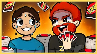 MAX AND JERRY VS THE WORLD! | Uno!