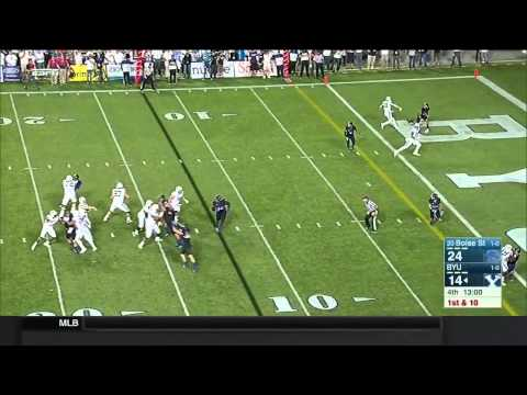 HIGHLIGHTS: BYU vs Boise State Football 2015