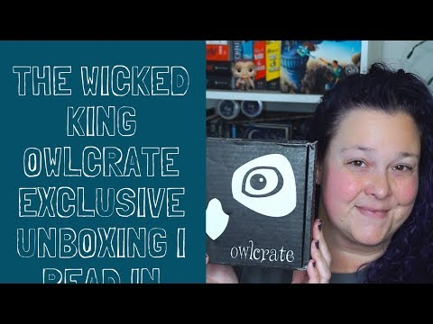 Owlcrate Exclusive The Wicked King Unboxing Mp3